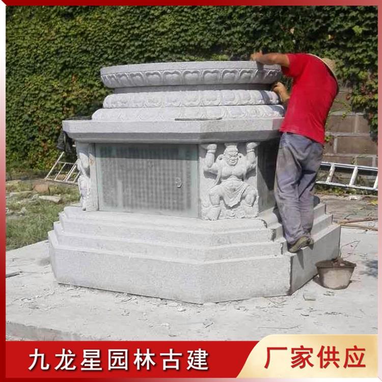石雕舍利塔安装图片