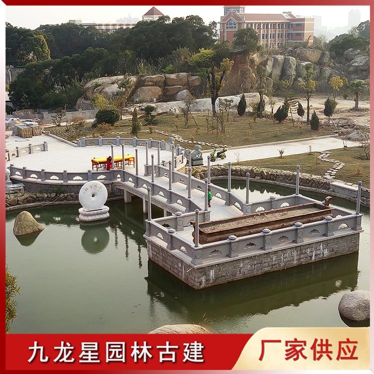 寺庙石栏杆图片